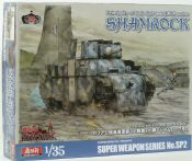"SWS SWpS SP2 Principality of Gallia light tank ZAKA custom ""Shamrock"" - half price!"